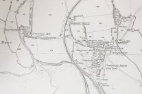 1870's map of Langstone